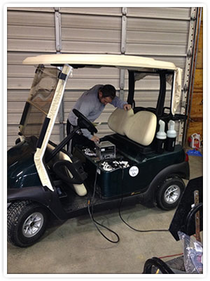 Indiana Golf Car Service Area